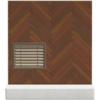 Brown herringbone wall Animal Crossing New Horizons