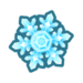 Animal Crossing: New Horizons Large snowflake