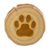 Paw-print doorplate Animal Crossing New Horizons