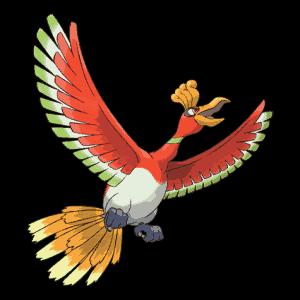 ho-oh Pokemon Go