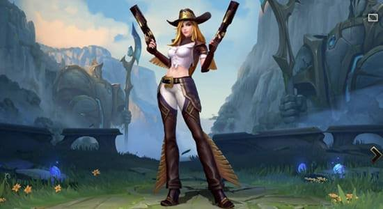 Cowgirl Miss Fortune Skin
