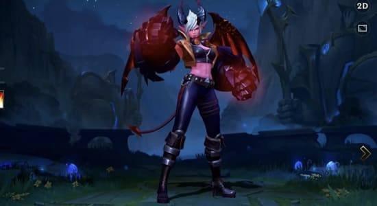 Demon Vi Skin