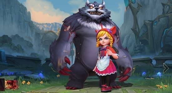 Red Riding Annie Skin