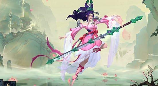 Sacred Sword Janna Skin