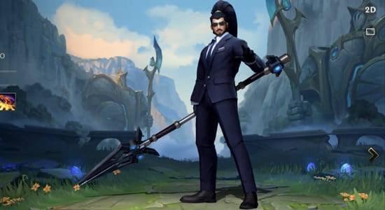 Secret Agent Xin Zhao Skin