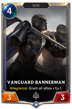 Vanguard Bannerman Legends of Runeterra