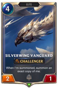 Silverwing Vanguard Legends of Runeterra