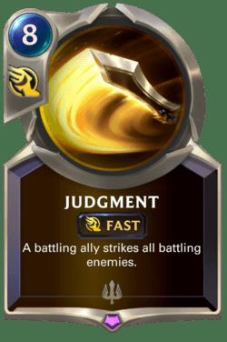 Judgment Legends of Runeterra