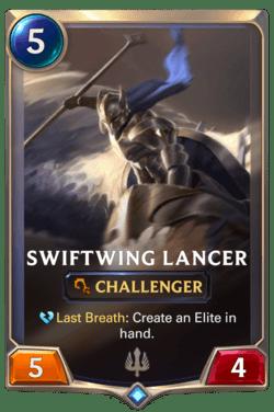 Swiftwing Lancer Legends of Runeterra