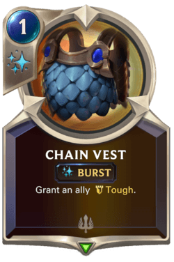 Chain Vest Legends of Runeterra