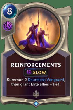 Reinforcements Legends of Runeterra