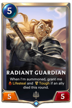 Radiant Guardian Legends of Runeterra