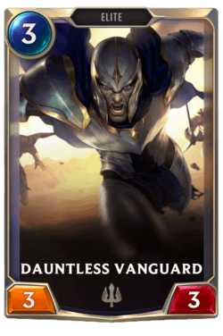 Dauntless Vanguard Legends of Runeterra