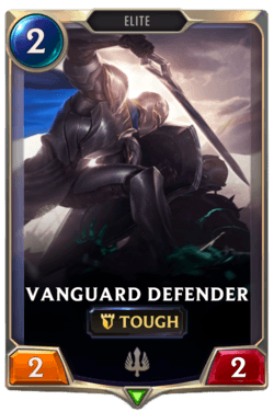Vanguard Defender Legends of Runeterra