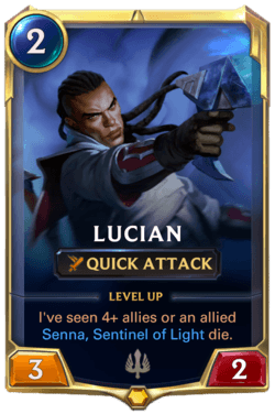 Lucian Legends of Runeterra