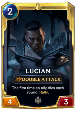 Lucian 2 Legends of Runeterra