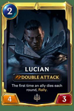 Lucian Legends of Runeterra