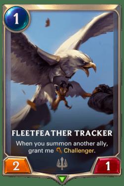 Fleetfeather Tracker Legends of Runeterra