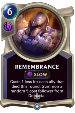 Remembrance Legends of Runeterra