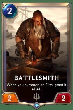 Battlesmith Legends of Runeterra