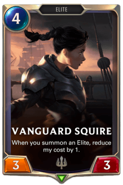 Vanguard Squire Legends of Runeterra