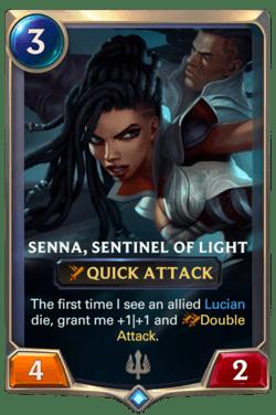 Senna, Sentinel of Light Legends of Runeterra