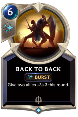Back to Back Legends of Runeterra
