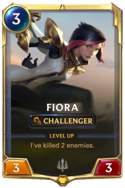 Fiora Legends of Runeterra