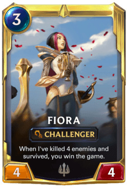 Fiora 2 Legends of Runeterra