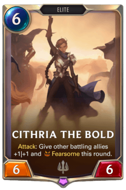 Cithria the Bold Legends of Runeterra