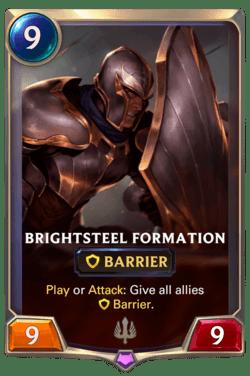 Brightsteel Formation Legends of Runeterra