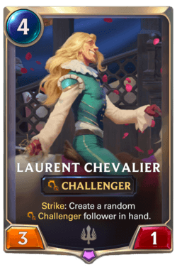 Laurent Chevalier Legends of Runeterra