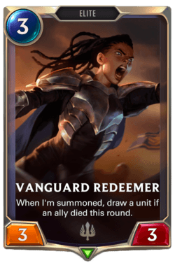 Vanguard Redeemer Legends of Runeterra