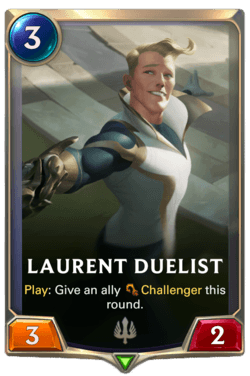 Laurent Duelist Legends of Runeterra