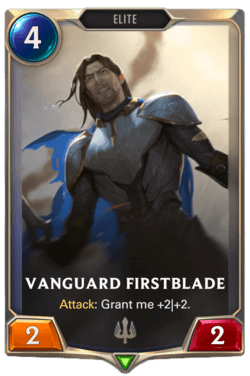 Vanguard Firstblade Legends of Runeterra