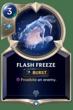 Flash Freeze Legends of Runeterra