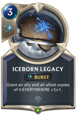Iceborn Legacy Legends of Runeterra