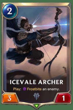 Icevale Archer Legends of Runeterra