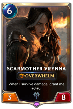 Scarmother Vrynna Legends of Runeterra