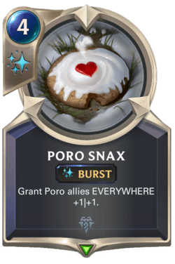 Poro Snax Legends of Runeterra