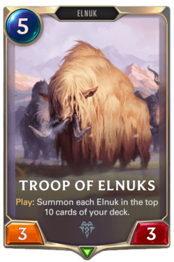 Troop of Elnuks Legends of Runeterra