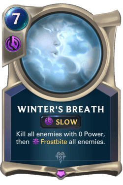 Winter's Breath Legends of Runeterra