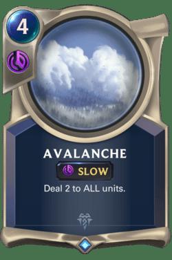 Avalanche Legends of Runeterra