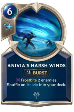 Anivia's Harsh Winds Legends of Runeterra