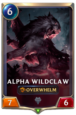 Alpha Wildclaw Legends of Runeterra