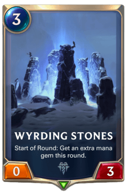 Wyrding Stones Legends of Runeterra