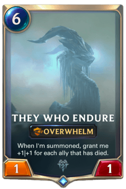 They Who Endure Legends of Runeterra