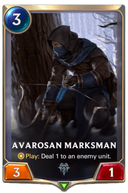 Avarosan Marksman Legends of Runeterra