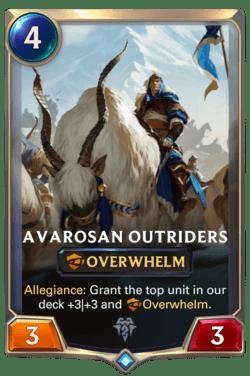 Avarosan Outriders Legends of Runeterra