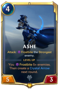 Ashe Legends of Runeterra